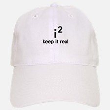 math keep it real Baseball Baseball Baseball Cap