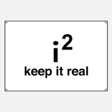 math keep it real Banner