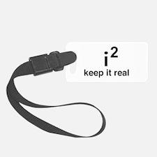 math keep it real Luggage Tag