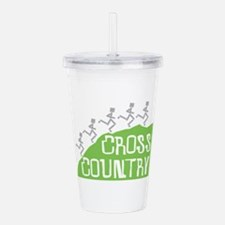 Cross Country Runners Acrylic Double-wall Tumbler