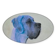 Aquarell Great Dane Zoe Decal