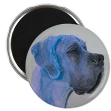 Aquarell Great Dane Zoe Magnets