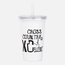 XC Cross Country Acrylic Double-wall Tumbler