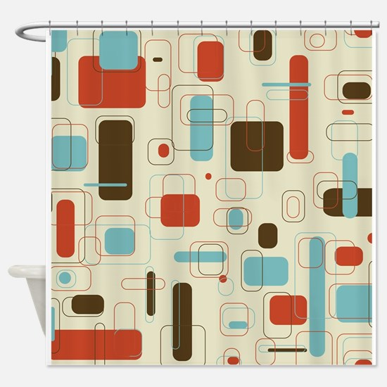 Cute Modern Shower Curtain