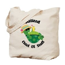 Retired chief of staff Tote Bag