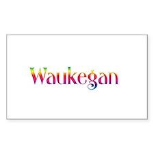 Waukegan Rectangle Decal