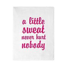 a little sweat never hurt nobody Twin Duvet