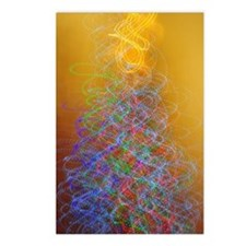 Cute Christmas light Postcards (Package of 8)