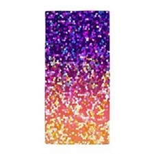 Glitter 10 Beach Towel