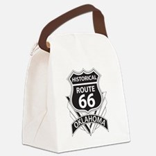 Funny Oklahoma route 66 Canvas Lunch Bag