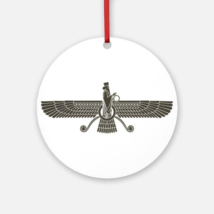 Farvahar Ornament (Round)