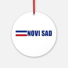 Novi Sad, Serbia & Montenegro Ornament (Round)