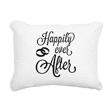 Happily Ever After Rectangular Canvas Pillow