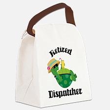 Retired Dispatcher Canvas Lunch Bag
