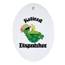 Retired Dispatcher Ornament (Oval)