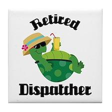 Retired Dispatcher Tile Coaster