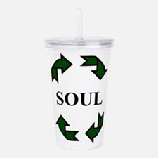 Recycled Soul Acrylic Double-wall Tumbler