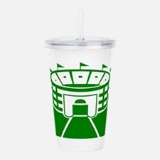 Green Stadium Acrylic Double-wall Tumbler