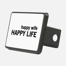 Happy Wife, Happy Life Hitch Cover