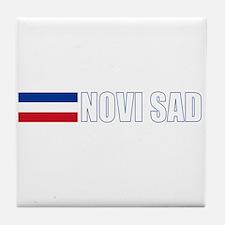 Novi Sad, Serbia & Montenegro Tile Coaster