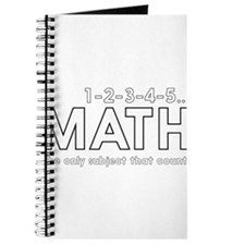 math only subject that counts Journal