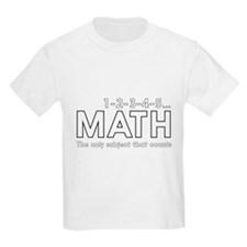 math only subject that counts T-Shirt