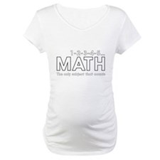 math only subject that counts Shirt