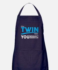 Its a Twin Thing, You Wouldnt Understand Apron (da