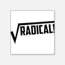 Math radical square root Sticker