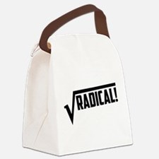 Math radical square root Canvas Lunch Bag