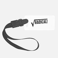 Math radical square root Luggage Tag
