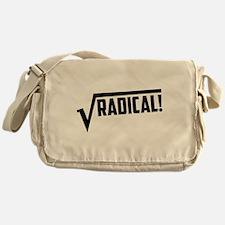 Math radical square root Messenger Bag