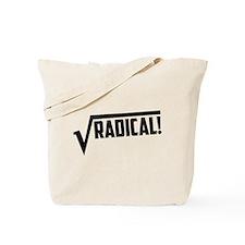Math radical square root Tote Bag