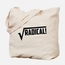 Math radical square root Tote Bag