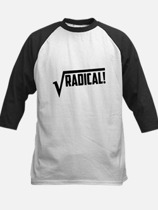 Math radical square root Baseball Jersey