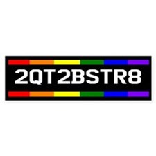 2QT2BSTR8 Bumper Car Sticker