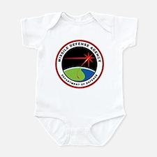 Missile Defense Agency Logo Infant Bodysuit
