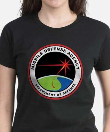Missile Defense Agency Logo Women's Dark T-Shirt