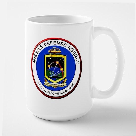 Aegis Program Logo Large Mug Mugs