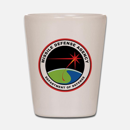 Missile Defense Agency Logo Shot Glass