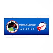 MDA New Logo Aluminum License Plate
