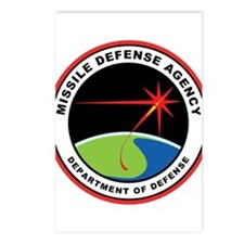 Missile Defense Agency Lo Postcards (Package of 8)