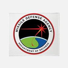 Missile Defense Agency Logo Throw Blanket