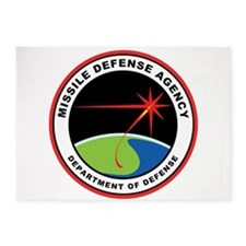 Missile Defense Agency Logo 5'x7'area Rug