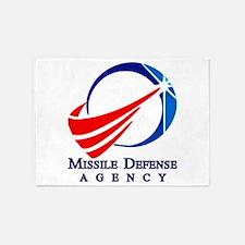 Mda New Logo 5'x7'area Rug