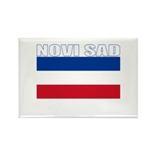 Novi Sad, Serbia & Montenegro Rectangle Magnet