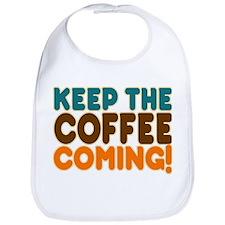 Cute Coffee humor Bib