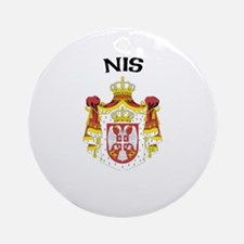 Nis, Serbia & Montenegro Ornament (Round)