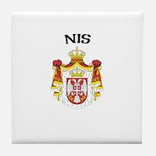 Nis, Serbia & Montenegro Tile Coaster