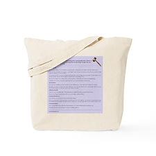 Unique Murphys law Tote Bag